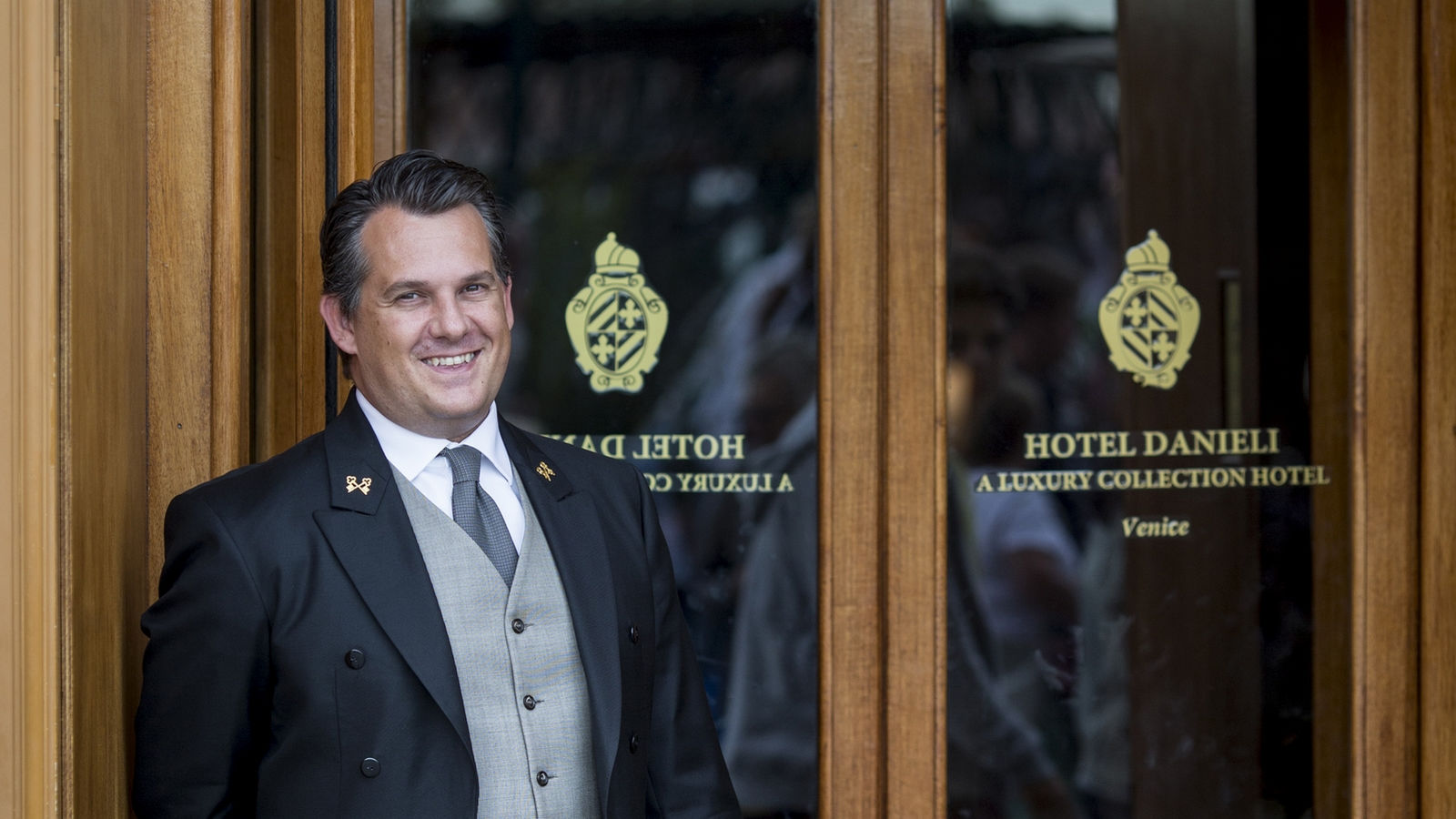 Filippo Bollani Head Concierge at Hotel Danieli