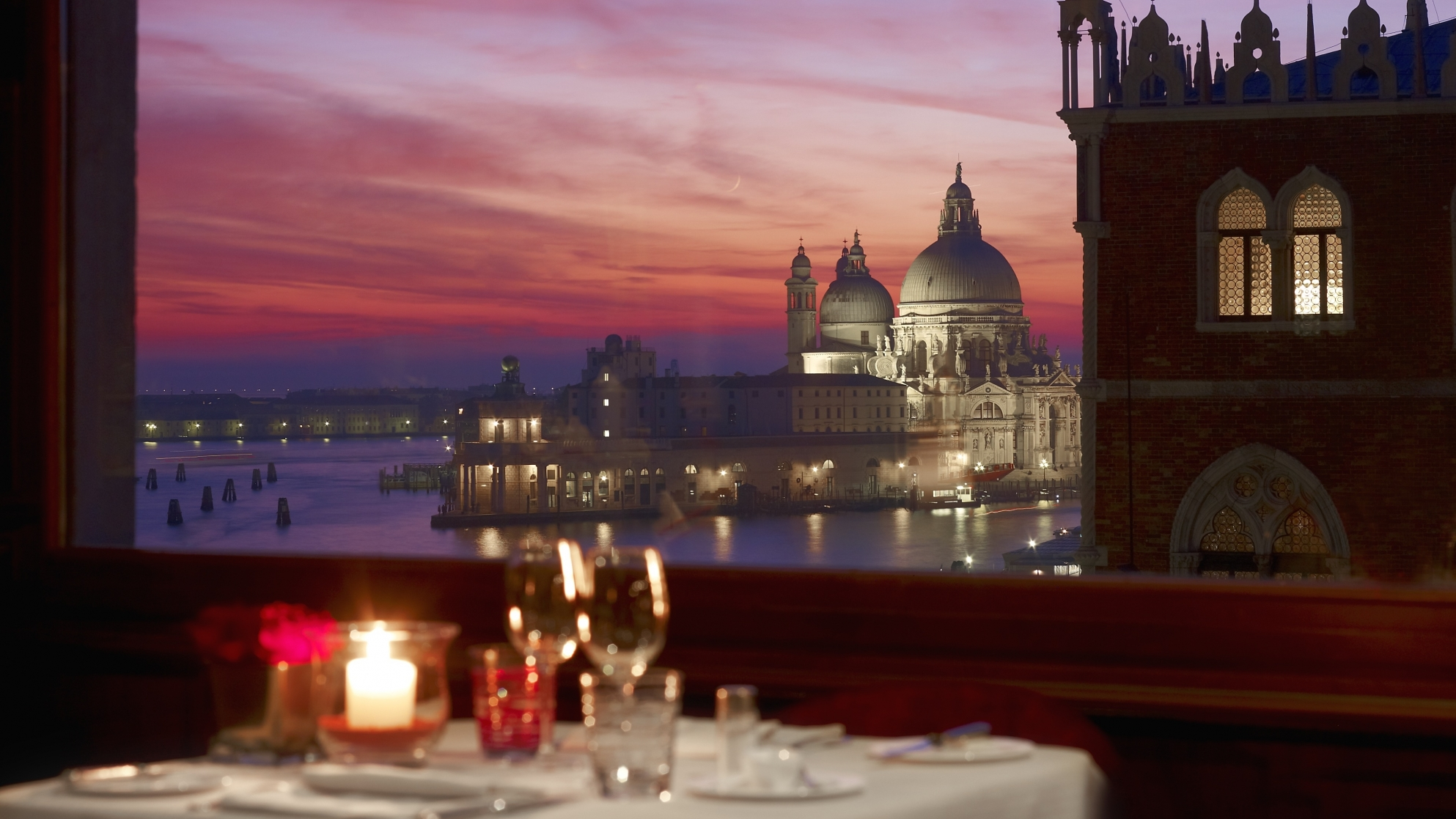 intimate dining at the Restaurant Terrazza Danieli